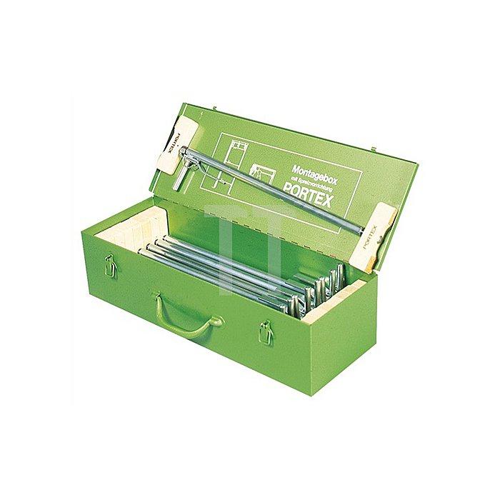 Montagebox Portex 9St./Stahlblech KLEMMSIA