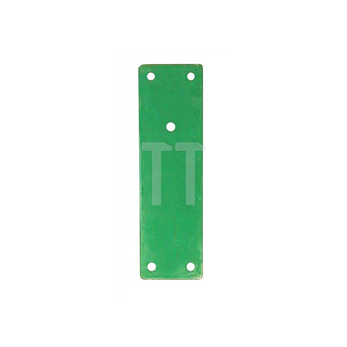 Montageplatte 901 670 Montage a.Brandschütztüren Stahl grün lack.m.Klebeset