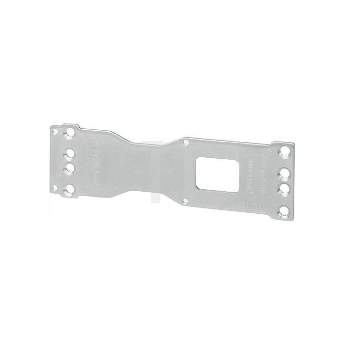 Montageplatte A120 f. DC200/300/500/700 verzinkt