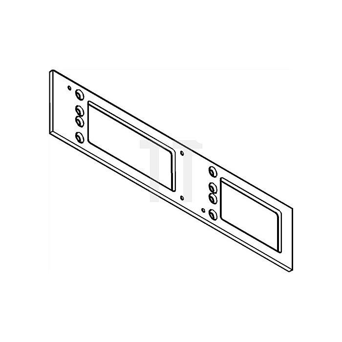 Montageplatte für TS 4000 / TS 5000 silber