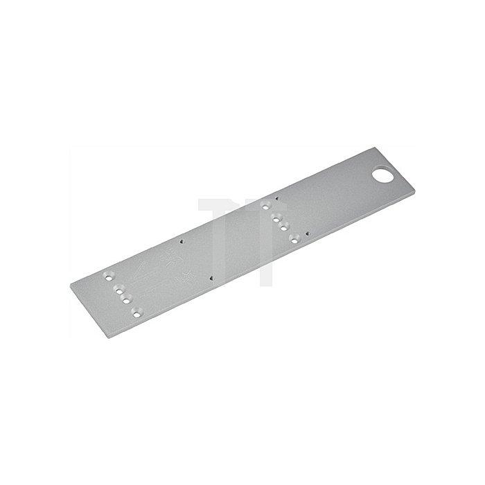 Montageplatte z.TS 73 EMF silber universelles Lochbild