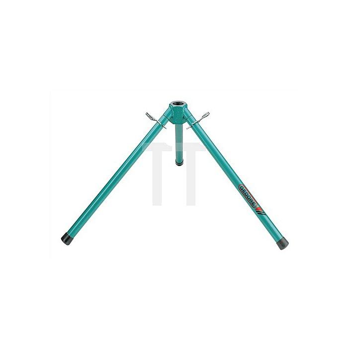 Montageständer H.480mm blau lackiert f.hand-hydr. Rohrbieger 1.1/4-2Zoll