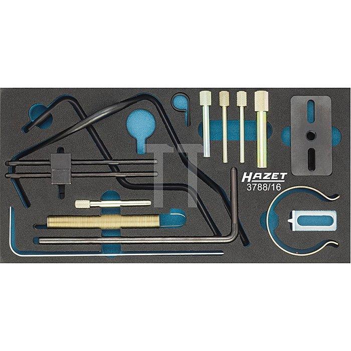 Hazet Motoreinstell-Werkzeug CITROËN / PEUGEOT,16teilig