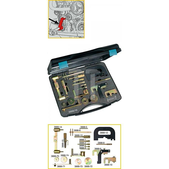 Hazet Motoreinstell-Werkzeug RENAULT 3888/19