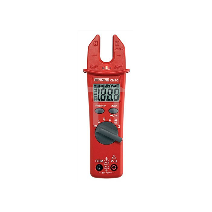 Multimeter CM 1-3 Digital f.Stromzangen BENNING