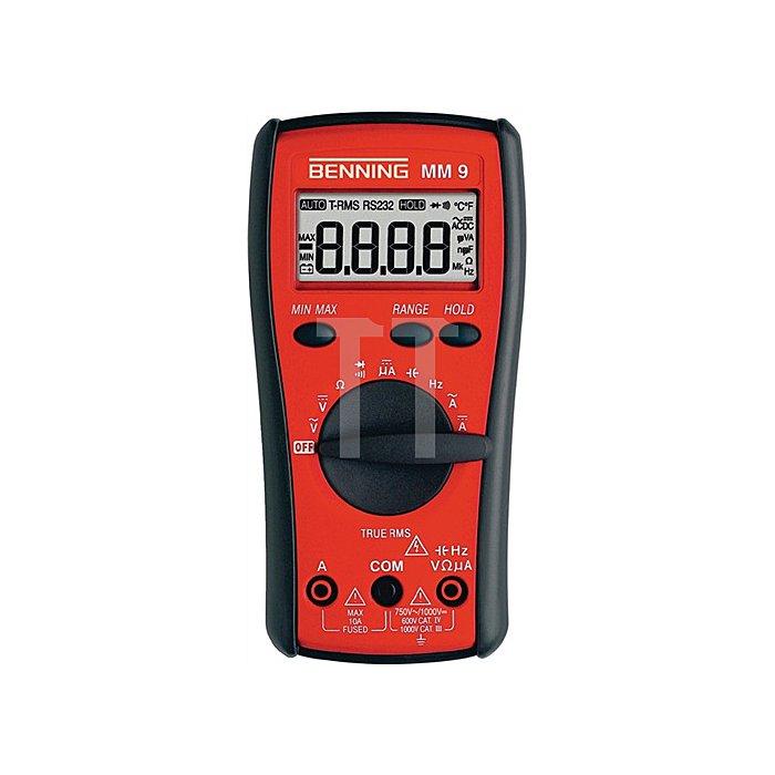 Multimetermm 9 Dig. 0,1mV-1000V m.Batterien BENNING