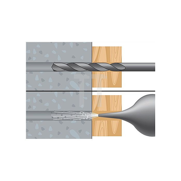 Nageldübel NP 6-80 A2 nicht rostender Stahl A2 VE: 50 Stk.