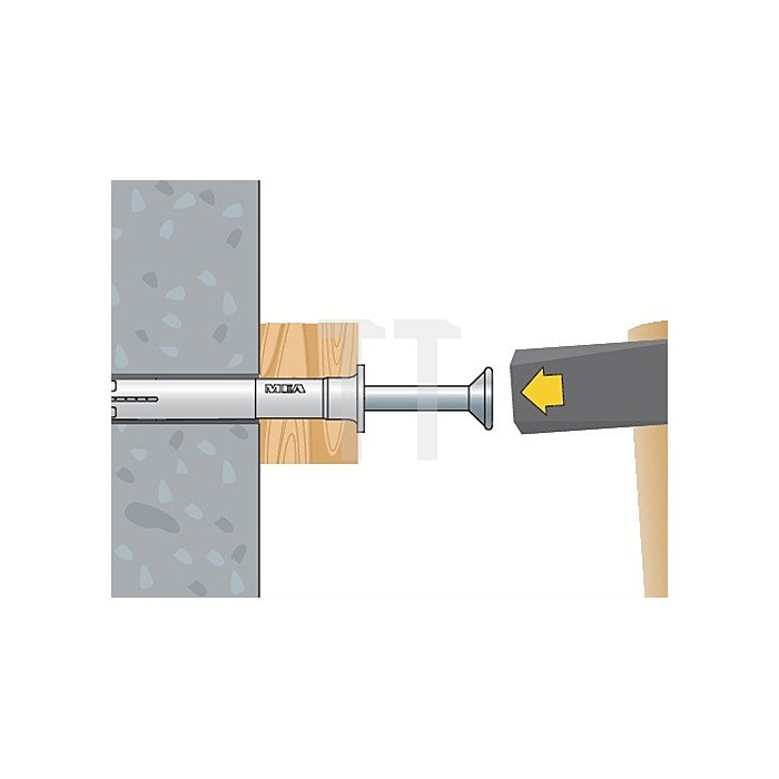 Nageldübel NP 8-60 A2 nicht rostender Stahl A2 VE: 50 Stk.