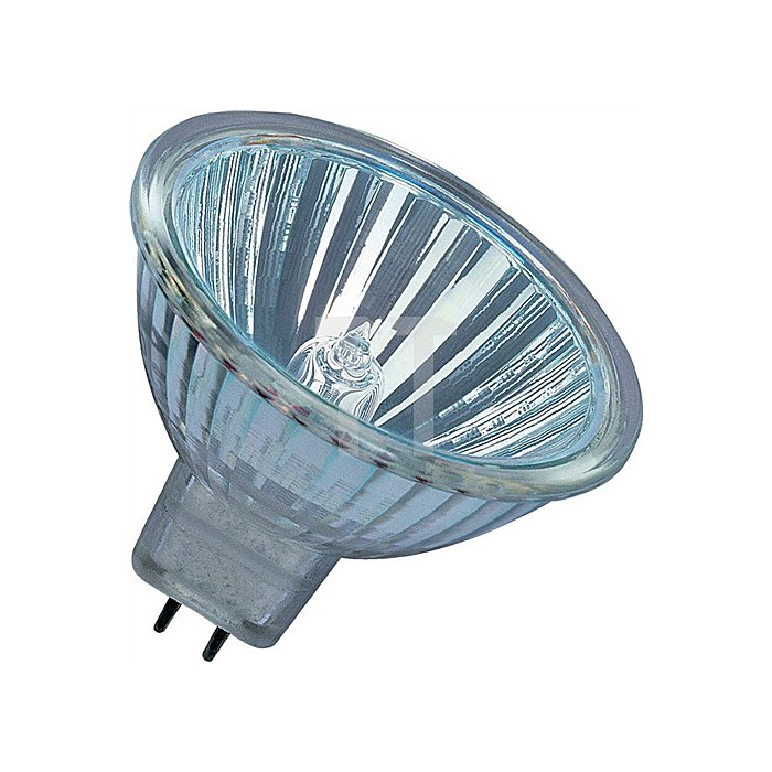 Niedervolt-Halogenlampe 14W GU5,3 Fassung 12V 180Lm warm weiss dimmbar