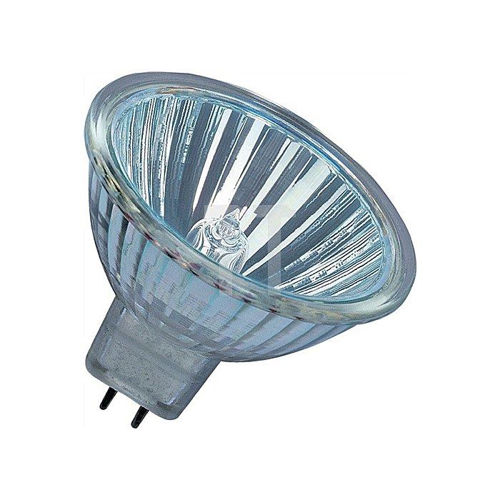 Niedervolt-Halogenlampe 35W GU5,3 Fassung 12V 550Lm warm weiss dimmbar