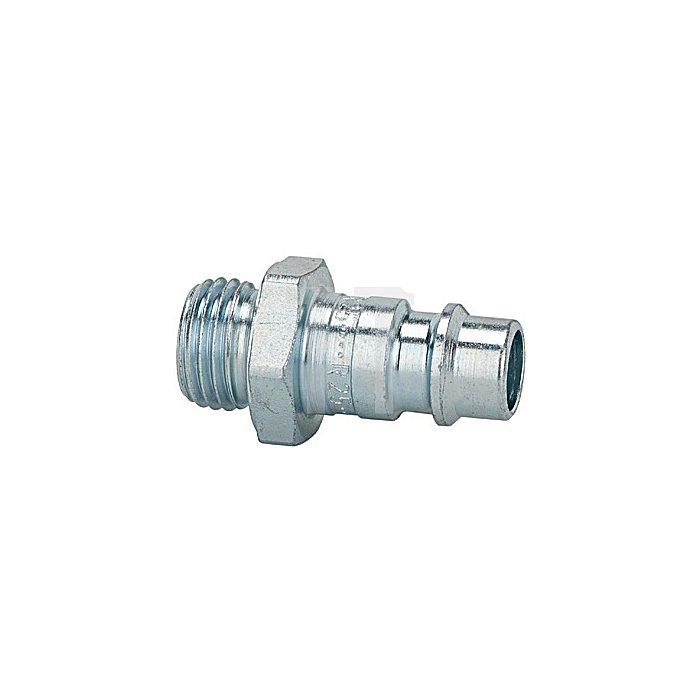 Nippel f. Kupplungen NW 7,2 - NW 7,8 G 1/8 außen, SW 14 mm