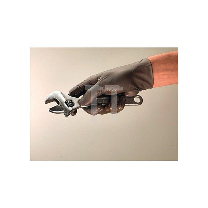 Nitril-Einweghandschuh EN374-2u.-3 KatIII TouchNTuff® 93-250 Gr. 9,5-.10, anthr.