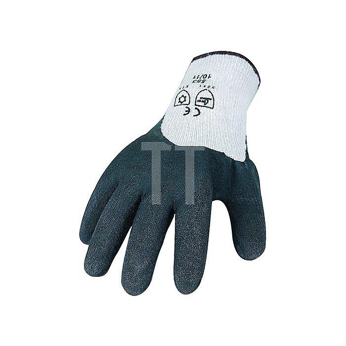 NOW Kälte-/Nässehandschuh EN388/511 Kat.II Terry Gr.11 Latexbeschichtung schwarz