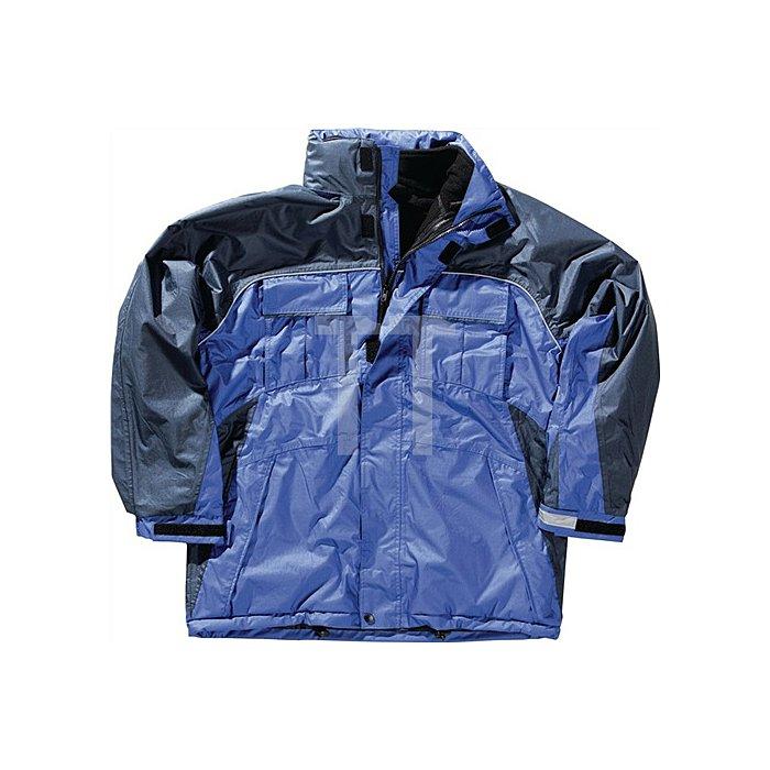 NOW Kombijacke Gr.XXL royal/marine 100 % Polyester