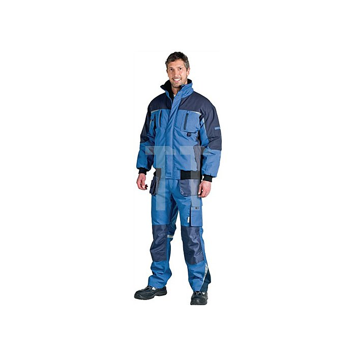 NOW Pilotenjacke Gr.L ozeanblau/marine 65%PES/35% BW