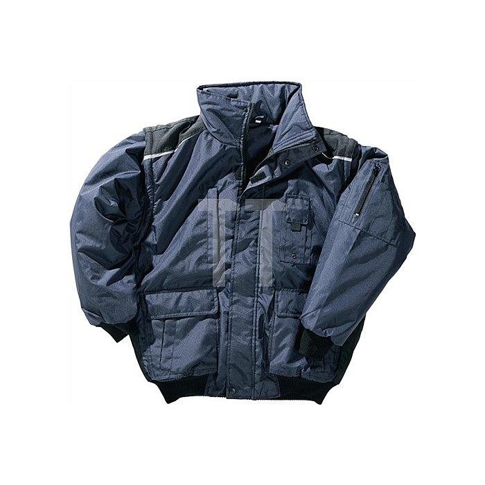 NOW Pilotenjacke Gr.XXL marine/schwarz 100 % Polyester