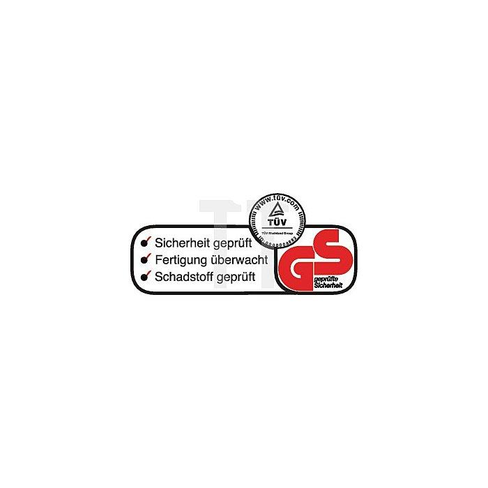 NOW Schweisserhandschuh Granada Gr. 10 Rindnarben-/Spaltleder weiss