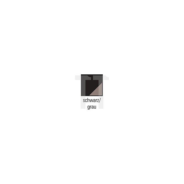 NOW Softshelljacke Gr.XXL schwarz/grau 94%PES/6% Elasthan