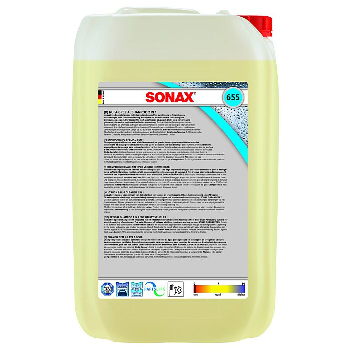 NuFa-SpezialShampoo 2 in 1 25 Liter