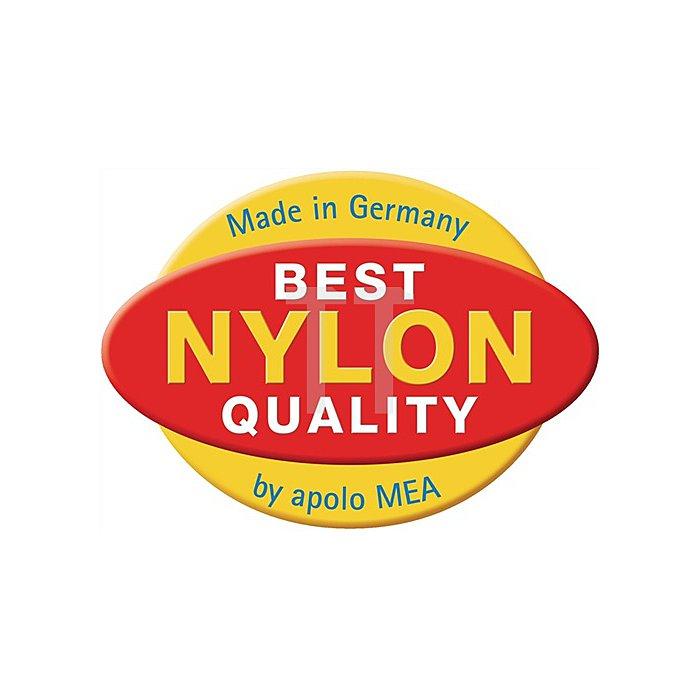 Nylon-Steckdübel MAS 6-40 weiss VE: 200 Stk. / 9 VE = 1 Umkarton apolo MEA