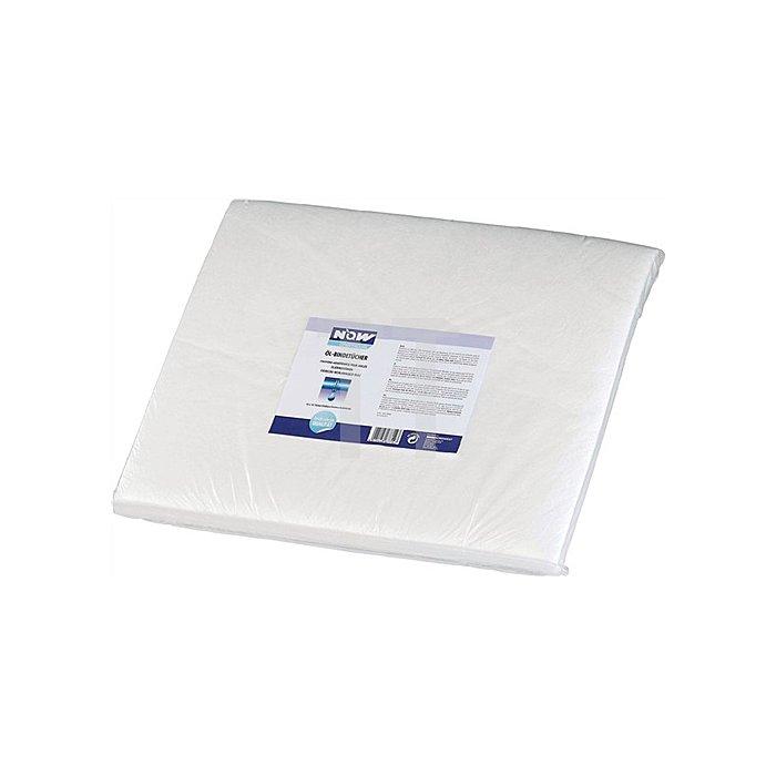 Öl-Bindetücher weiss 40x50cm 1 cm Stärke NOW chemicals Karton (10x10 Tücher)