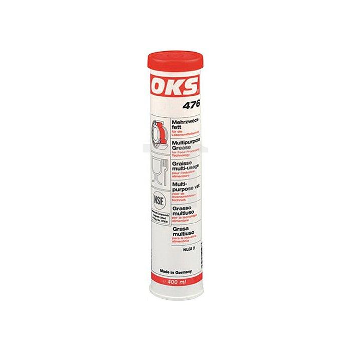 OKS 476 Mehrzweckfett für die Lebensmitteltechnik, 400ml Kartusche