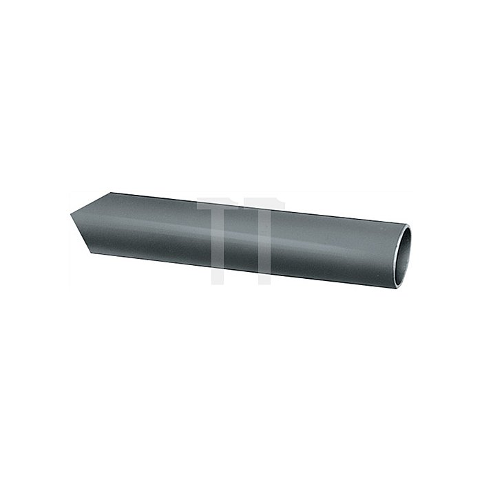 Ovalrohr nahtlos gez.H.35mm B.20mm Stärke 1,75mm Chrom nahtlos Lager-L.5000mm