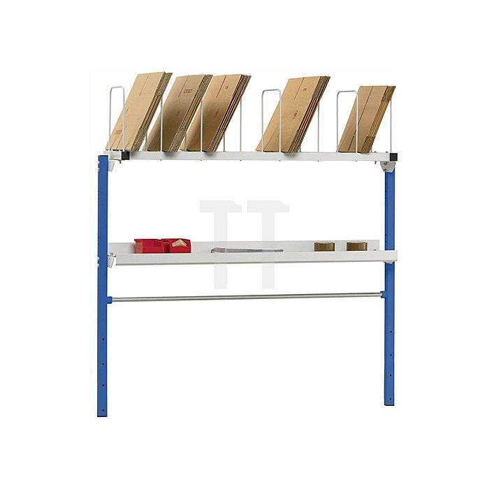 Packtisch-Anbausystem für Packtischbreiten 1600 und 2000mm Variante 1