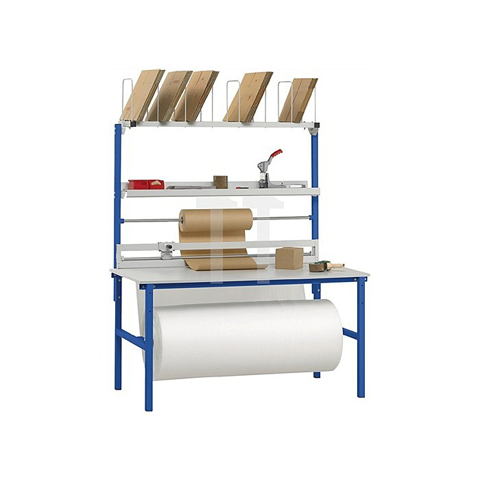 Packtisch-Set B 2000 x T 800mm Aufbauten Variante 2