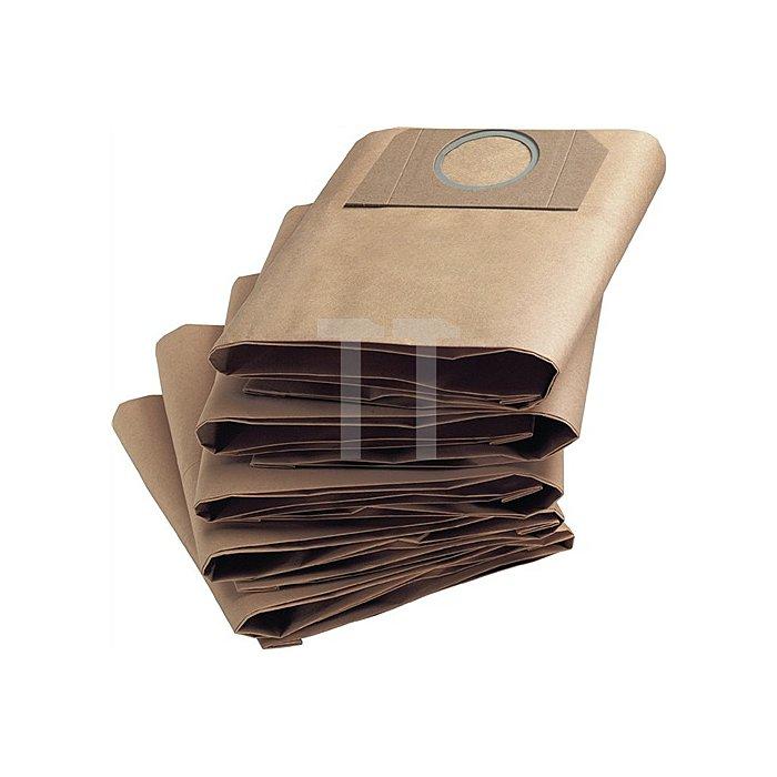 Papierfilterbeutel f.Nass-/Trockensauger NT 27/1/VE 5