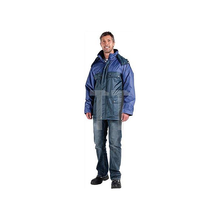 Parka Armstrong Gr.XL, blau, 100%PES