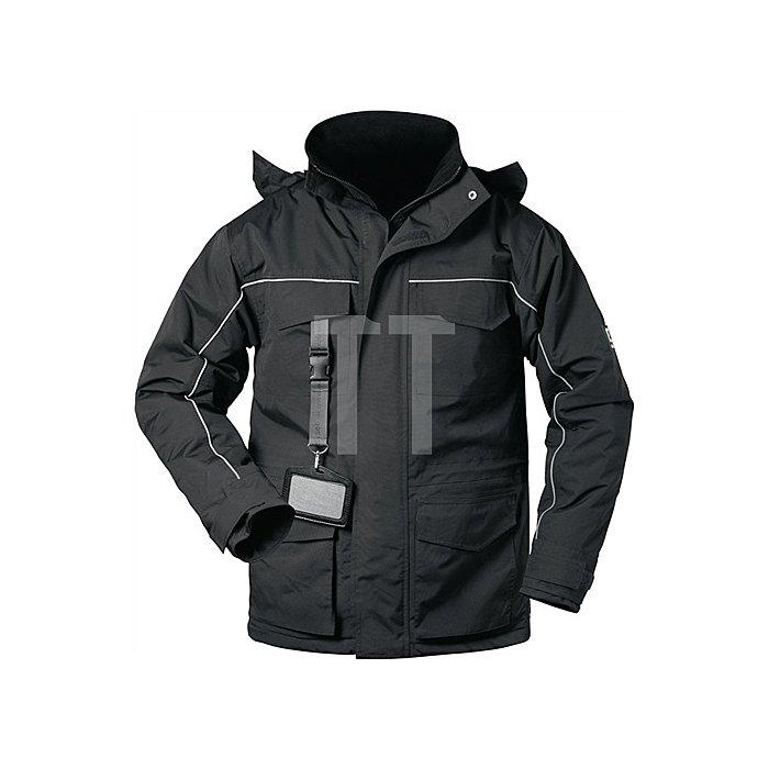Parka Blackpool Gr.XL schwarz/schwarz 100% Polyamid