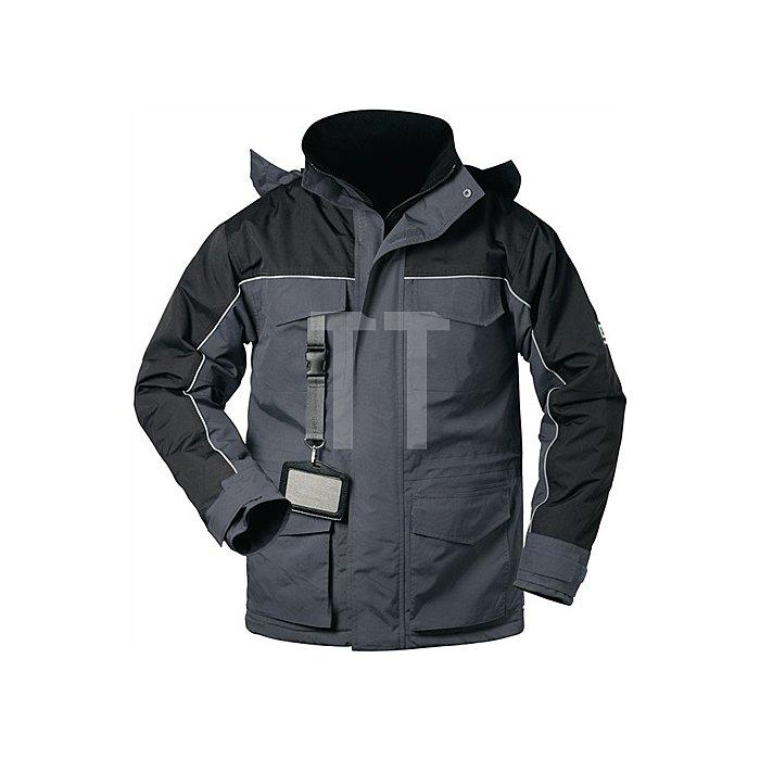 Parka Cardigan Gr.XXL grau/schwarz 100% Polyamid