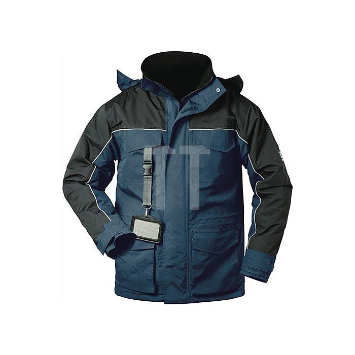 Parka Newcastel Gr.L marine/schwarz 100% Polyamid