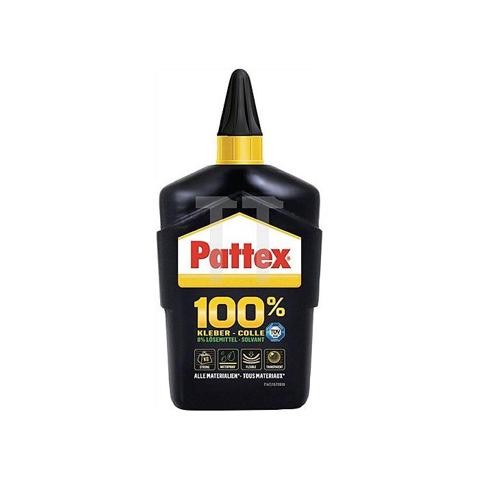 Pattex 100 prozent kleber transparent 100g -40bis -80grad kurzzeitig
