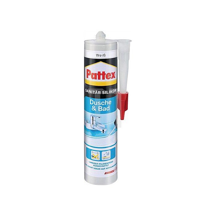 Pattex Dusche& Bad Silikon dunkelgrau300ml -40 bis +120 Grad