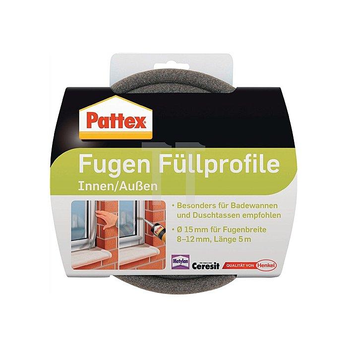 Pattex Füllprofil 15mmx5m für Dehnungsfugen,Böden,Decken,Wände