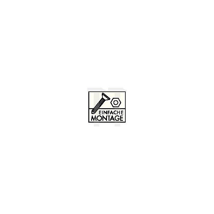 PC-Arbeitstisch grau H.720-1100xB.600xT.500mm