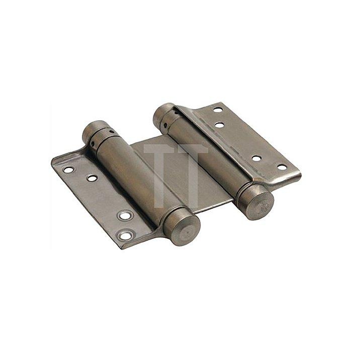 Pendeltürband Größe 33/125 Stahl verz. TS 30-35mm