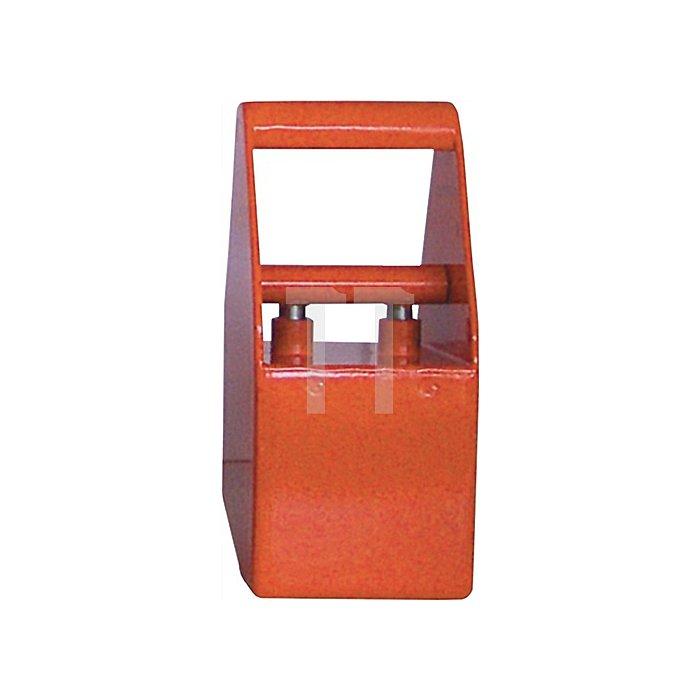 Permanentmagnet Haftfläche 110mm/110mm schaltbar Gesamt-H.190mm