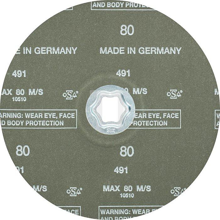 PFERD COMBICLICK® Fiberschleifer CC-FS 180 Z 80