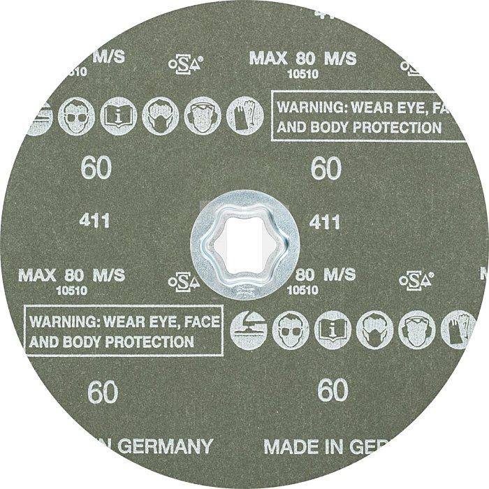 PFERD COMBICLICK® Fiberschleifer CC-FS 180 Z-COOL 60