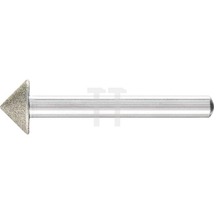 PFERD Diamant-Schleifstift DSK 15,0-90°/6 D 126