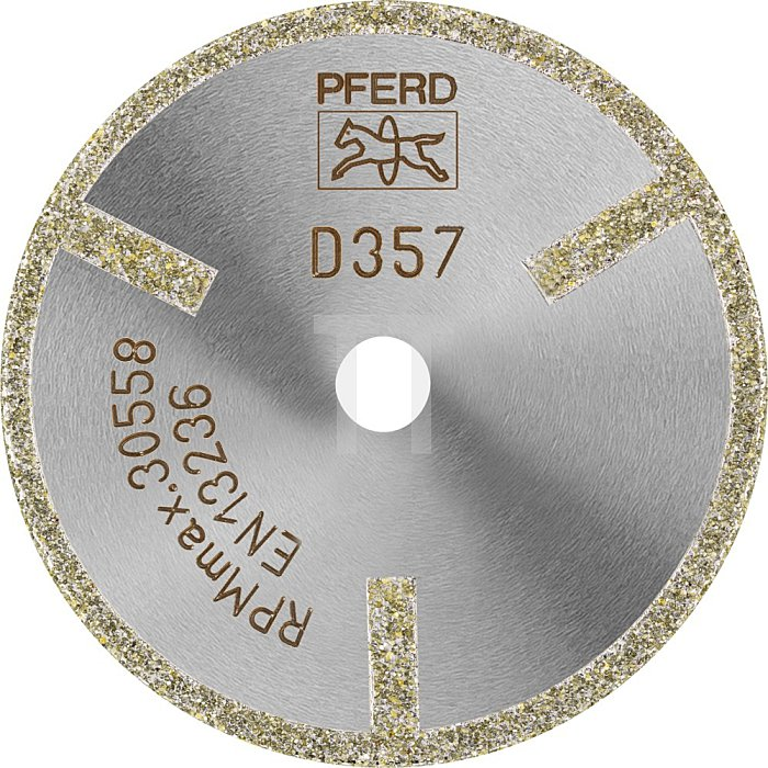 PFERD Diamant-Trennscheibe D1A1R 50-2-10 D 357 GAG