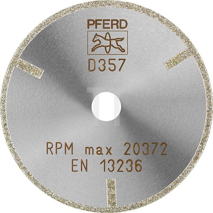 PFERD Diamant-Trennscheibe D1A1R 75-2-10 D 357 GAG