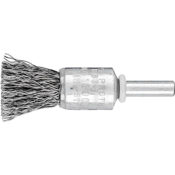 PFERD Pinselbürste mit Schaft, ungezopft PBU 1516/6 ST 0,35