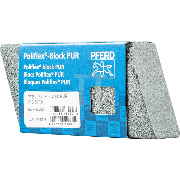 PFERD Poliflex®-Block PFB 1156030 CU 60 PUR