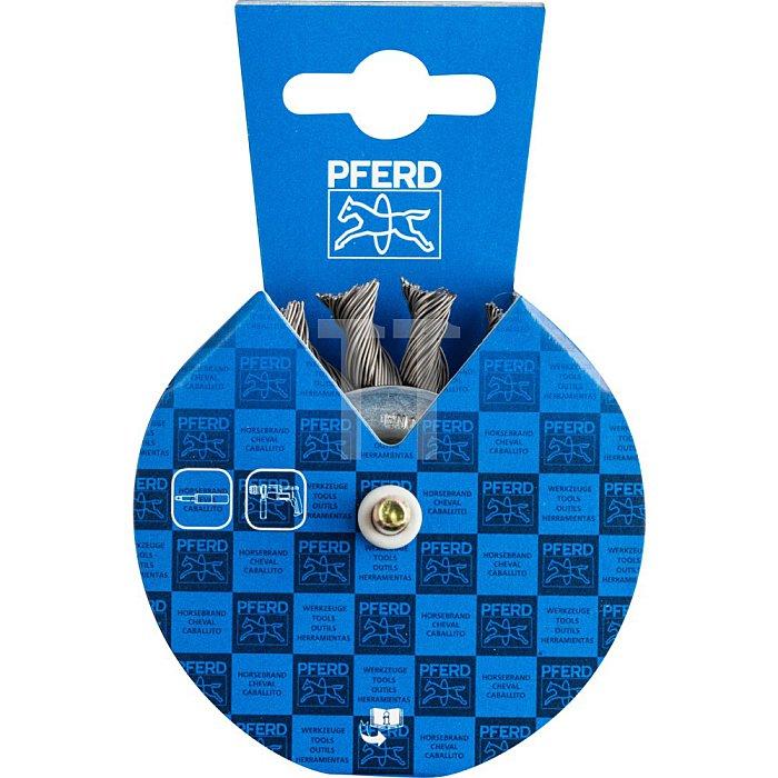 PFERD Rundbürste mit Schaft, gezopft POS RBG 7006/6 ST 0,50