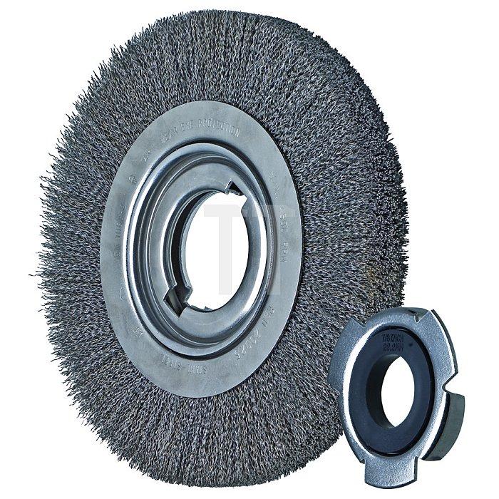 PFERD Rundbürste, ungezopft, Ausführung breit, Edelstahldraht (INOX) RBU 18038/AK 32-2 INOX 0,30