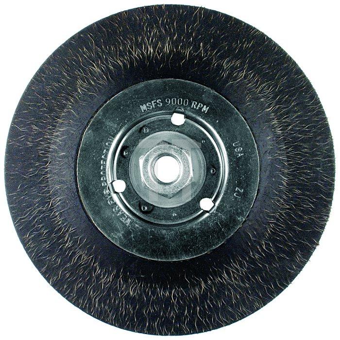 PFERD Rundbürste, vulkanisiert, Pipeline, Stahldraht RBV 17806/M14 PIPE ST 0,35 E5